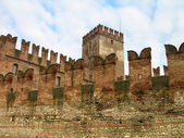 Castelvecchio (Old Castle) in Verona, Italy — Stock Photo