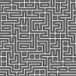 Labyrinth maze background — Stock Photo