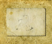 Grunge blank photo — Stock Photo
