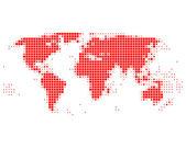 Worldmap — Stock Photo