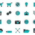 Web icons — Stock Photo #6398569