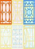 ステンド グラスの窓. — ストックベクタ