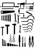 The metalwork tool. — Stock Vector