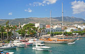 Greece. Dodecanesse. Island Kos. Kos town. Harbor — Stock Photo