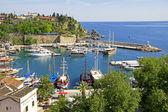 土耳其。安塔利亚 town.harbor — 图库照片
