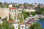 Turchia. antalya town.harbor — Foto Stock