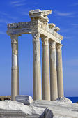 Turkey. Side. Temple of Apollo — Stock Photo