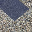 Stock Photo: Cobblestone hand-made pavement