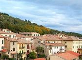 Włochy. toskania. cortona — Zdjęcie stockowe