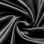 Smooth elegant black silk as background — Stock Photo #5885188