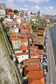 Portugal. Porto city. Old historical part of Porto. — Stock Photo