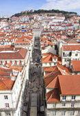 Portugal. Panorama of Lisbon — 图库照片