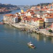 Stock Photo: Portugal. Porto city. View of Douro river embankment