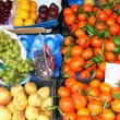 Portugal. Porto city. Fresh fruits on a traditional market - Stock Photo