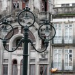 Portugal. Porto city. Ancient lantern — Stock Photo