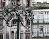 Portugal. ville de Porto. ancienne lanterne — Photo