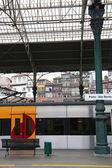 Portugalia. miasto porto. dworca kolejowego sao bento — Zdjęcie stockowe