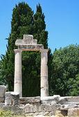 греция. остров кос. руины — Стоковое фото