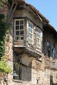 Turquia. cidade de antália. antiga casa turca — Foto Stock