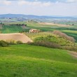 Italy. Val D'Orcia valley. Tuscany landscape — Stock Photo #6220396