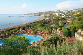 """Italy. Ischia. Thermal park """"Giardini Poseidon Terme """" — Stock Photo"""