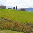 Italy. Val D'Orcia valley. Tuscany landscape — Stock Photo #6261974