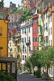Italy. Cinque Terre. Riomaggiore village — Stock Photo