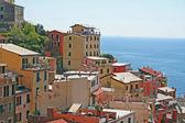 Italien. cinqueterre. dorf von riomaggiore — Stockfoto