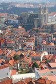 Portekiz. porto. şehrin üzerinde havadan görünümü — Stok fotoğraf