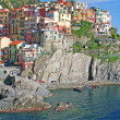 Italy. Cinque Terre. Manarola - Stock Photo