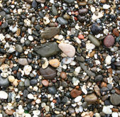 Colorful stones on the beach — Stock Photo