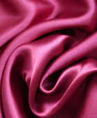 Elegant pink silk as wedding background — Stock Photo