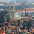 Portugal. Porto. Aerial view over the city - Stock Photo