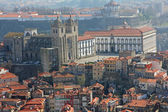 Portugal. Porto. Aerial view over the city — Foto de Stock