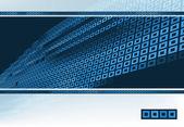 Technologic card — Stock Vector