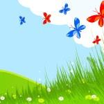 Spring landscape — Stock Vector #5426260