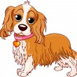 Royalty-Free Stock Vector Image: Cavalier King Charles Spaniel