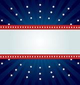 Bannière de paillettes étoile — Vecteur