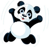 Happy Panda — Stock Vector