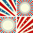 Patriotic Background - Stock Vector