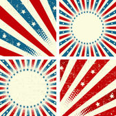 Patriotic Background — Vector de stock