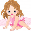 Cute little Fairy - Stock Vector