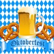 Oktoberfest Celebration Background — Vector de stock #6465441