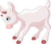 Little Baby Goat — Stock Vector