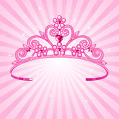 Princess Crown — Stock Vector