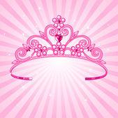Princess crown — Stockvector