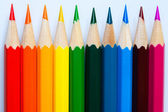 Varicoloured pencils. — Stock Photo