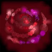 Shimmering Rose — Stock Vector