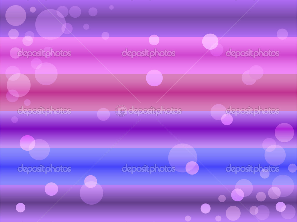 Transparent multi-colored bubbles on the horizontal strips — Stock Vector #6427698