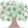 Beautiful tree — Imagen vectorial